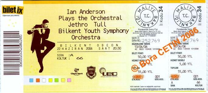 IAN Ankara Ticket 2006