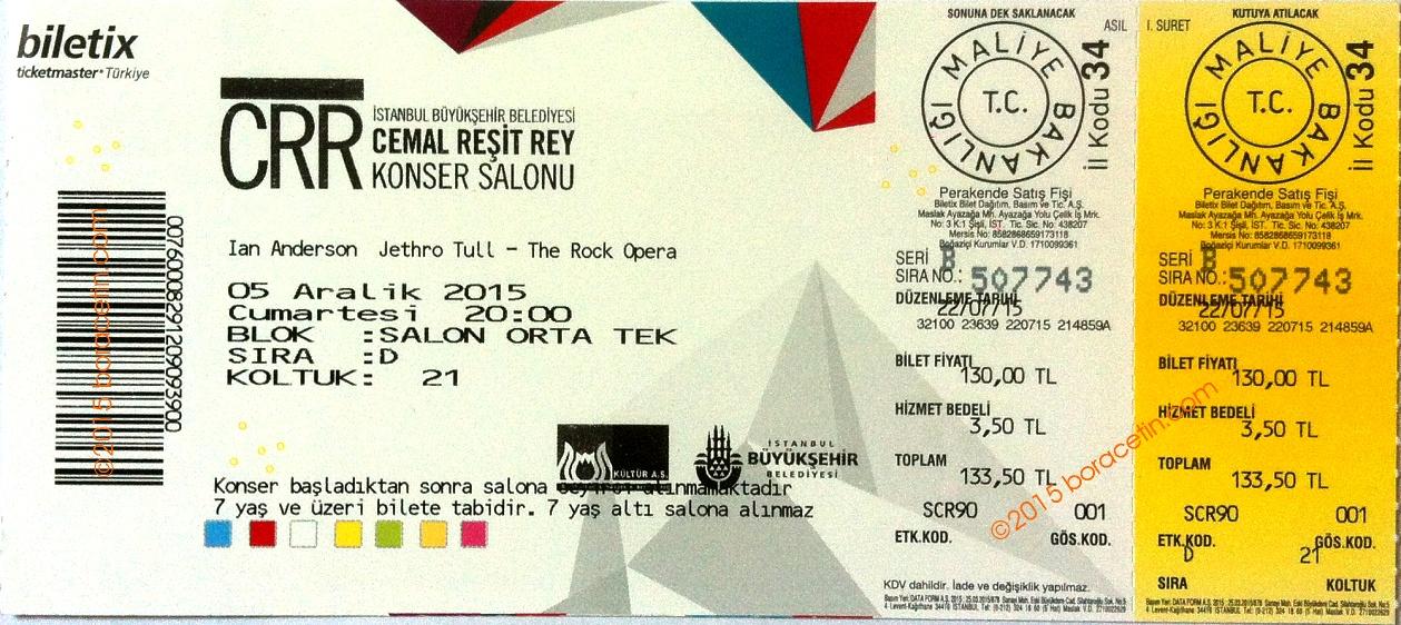 IAN TAAB   Istanbul  Ticket 2012